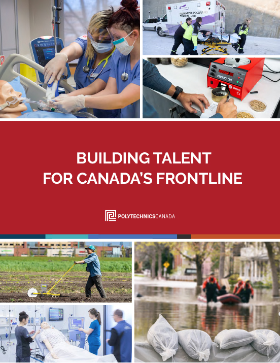 Building Talent for Canada's Frontline